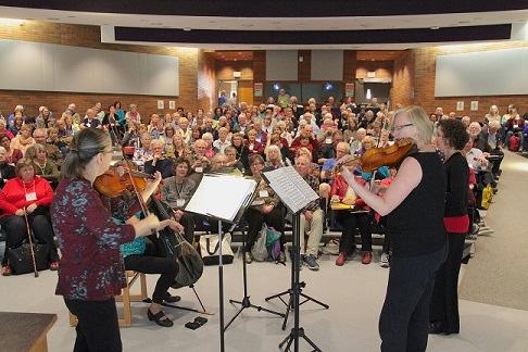 Musical group at Edmonton Lifelong Learners
